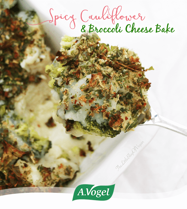 how to make cauliflower broccoli bake