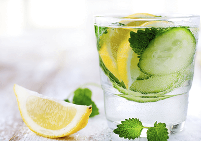 Lemon Mint Amp Cucumber Detox Water