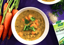 Carrot, Lentil and Coriander Soup
