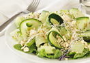 Cucumber and Feta Cheese Salad