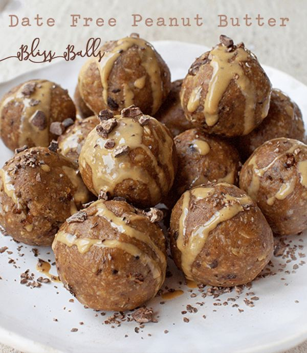 I Hope You Give This Delicious And Easy Date Free Peanut Butter Bliss Balls A Try And If You Do Be Sure To Tag The Picture Avogelrecipes On Pinterest So