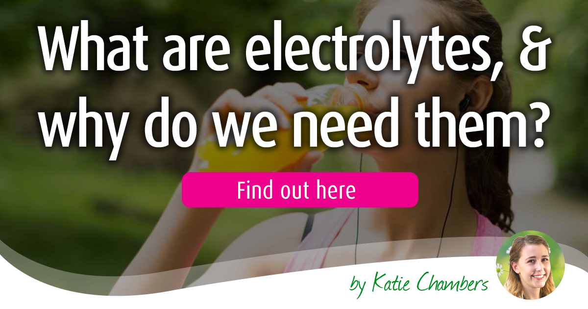 What Are Electrolytes And Why Do We Need Them