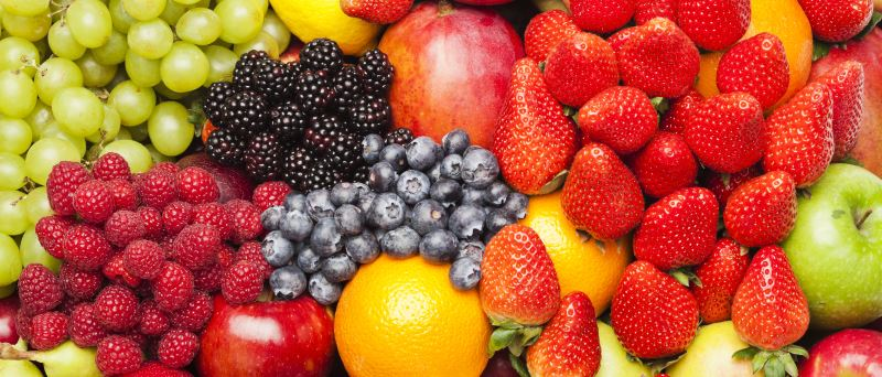Fresh fruit to prevent colds and flu