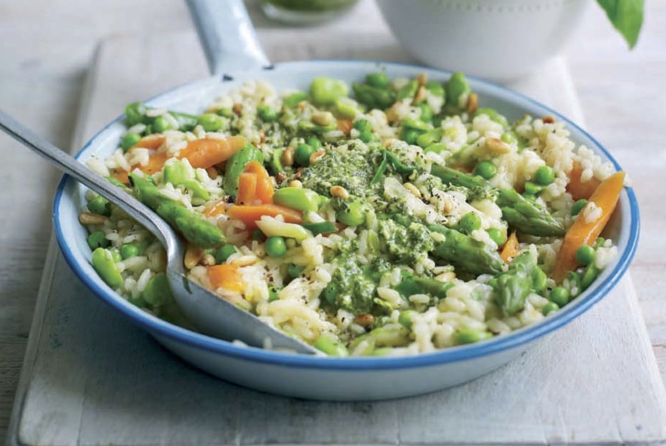 Energy-boosting vegetarian risotto