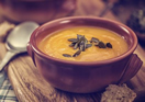 Pumpkin & potato soup