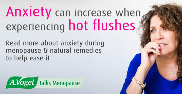 Anxiety and the menopause – this common symptom can be made worse by hot flushes