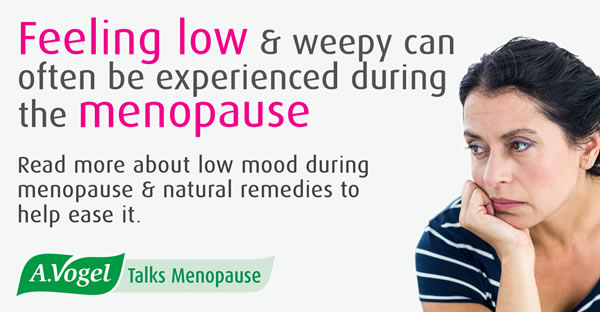 Low mood and the menopause – feeling low is a common emotional symptom of menopause
