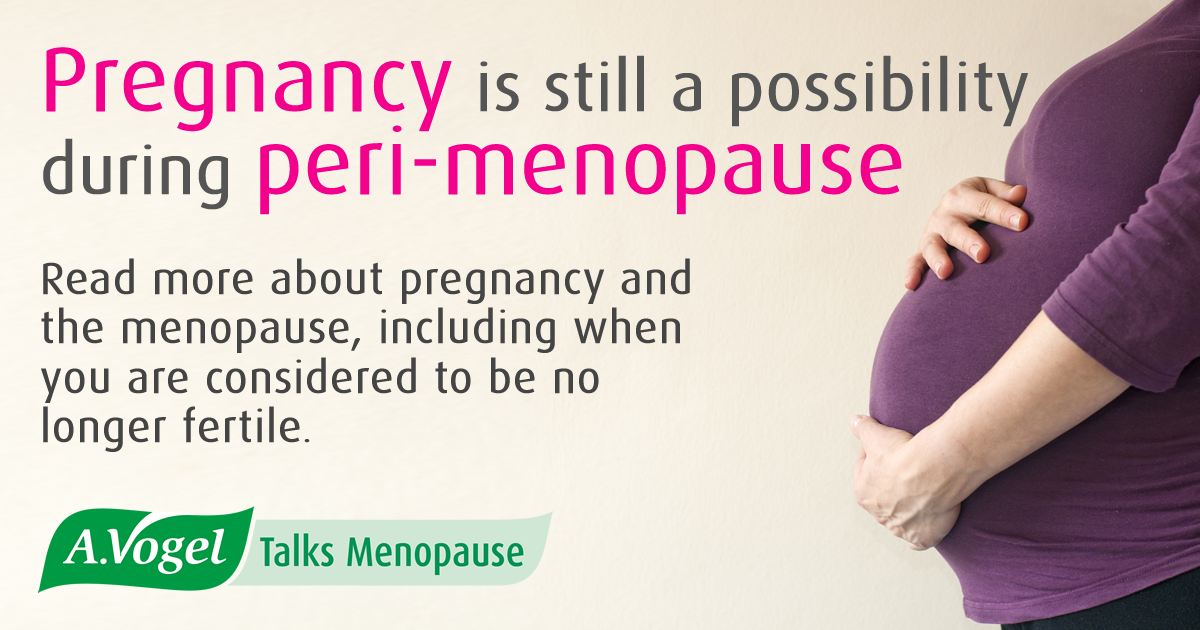 Menopause And Pregnancy