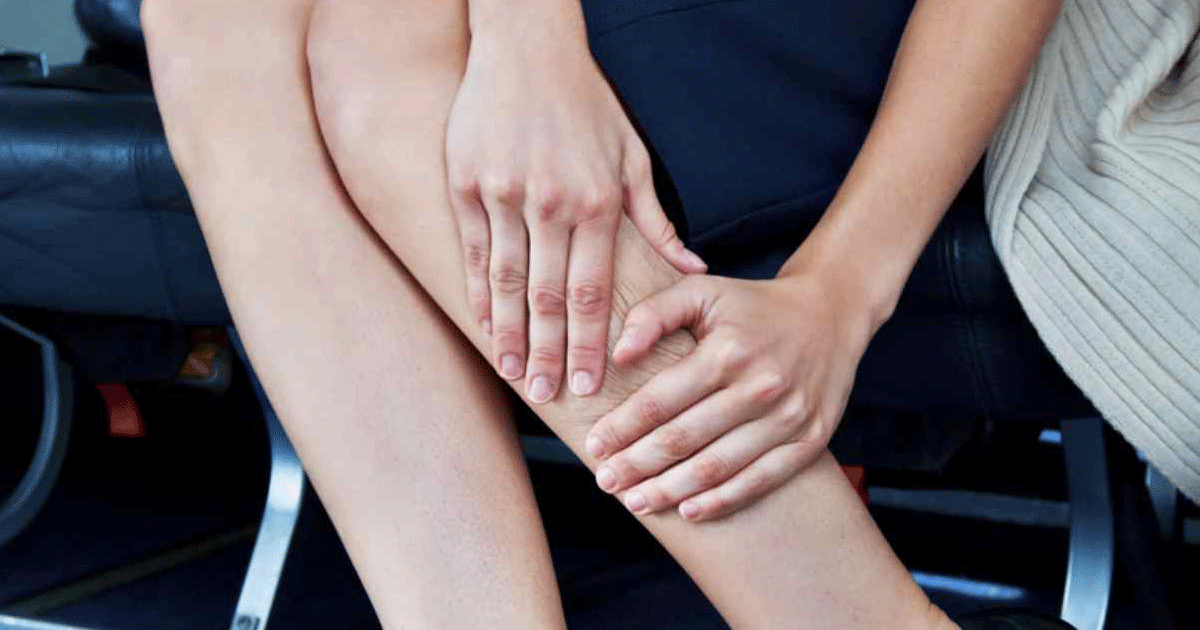10 tips to help survive heavy legs when flying