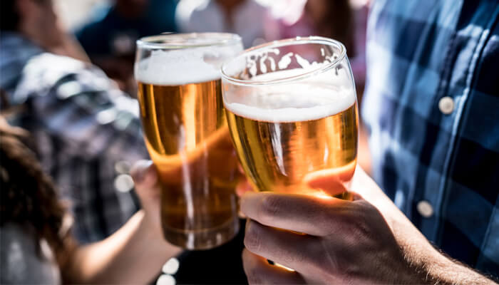 does heavy drinking cause prostate problems