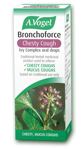 Bronchoforce Contains Ivy Thyme And Liquorice Herbal Remedies Traditionally Used For Chesty Coughs