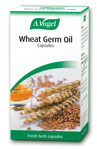 Wheat Germ Oil Capsules From A Vogel