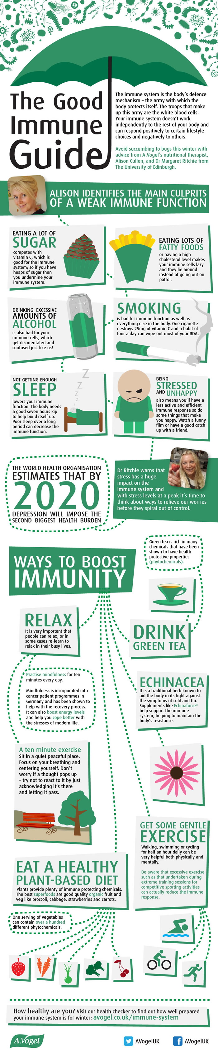 Immunity myths: how to maintain health