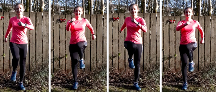 varicose veins exercise - march on spot